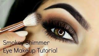 Smokey Shimmer Eye Makeup Tutorial SUBSCRIBE it's FREE ▻ https://go...