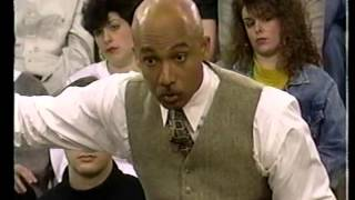 Dr Hickson appears on The Montel Williams Show 1995