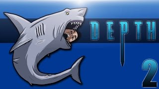 DEPTH: DIVERS VS SHARKS Ep. 2 (BasicallyICheeseburger!)