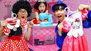 Boram vai a uma festa da Barbie Maquiagem Infantis