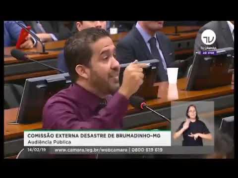 DEPUTADO DETONA PRESIDENTE DA VALE - Veja o que ele disse em audiência na Câmara Federal