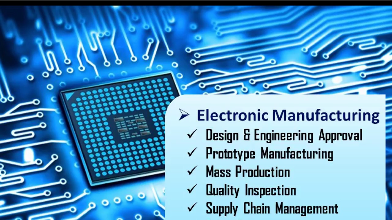 MCBS Electronic Manufacturing Services (State-of-the-art Surface-Mount  Technology)