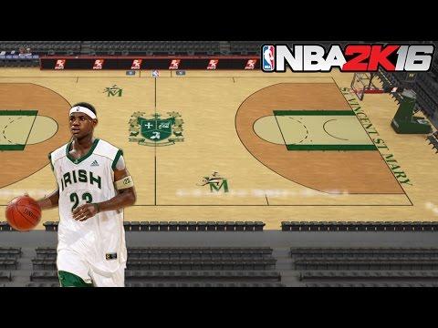 NBA 2K16 Court Creation Series: Lebron James