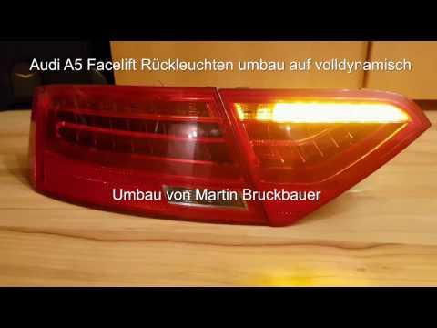 Audi A5 dynamischer Blinker umbau