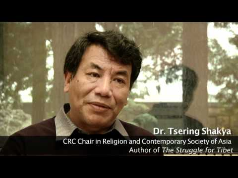 """Who is the target audience for """"The Struggle For Tibet"""" - Dr. Tsering Shakya [2 / 4]"""