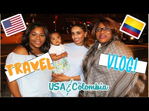 TRAVEL VLOG SUMMER 2017 - USA & COLOMBIA || COFFEE PLANTATION, TIMES SQUARE NYC & MORE
