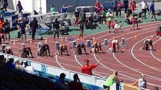 Världsungdomsspelen 2018 | MS 100m Finale A