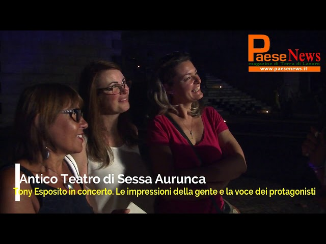 sessa tony esposito teatro romano
