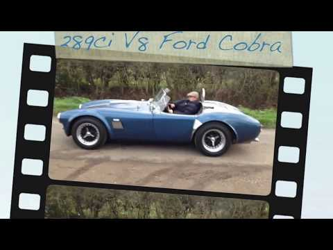 289ci V8 Ford Cobra