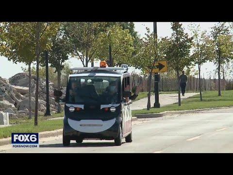 Badger Racine's new driverless vehicle   FOX6 News Milwaukee