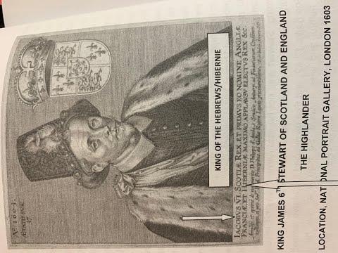 King James VI's United Kingdom of Israel/America & the House of Stewart