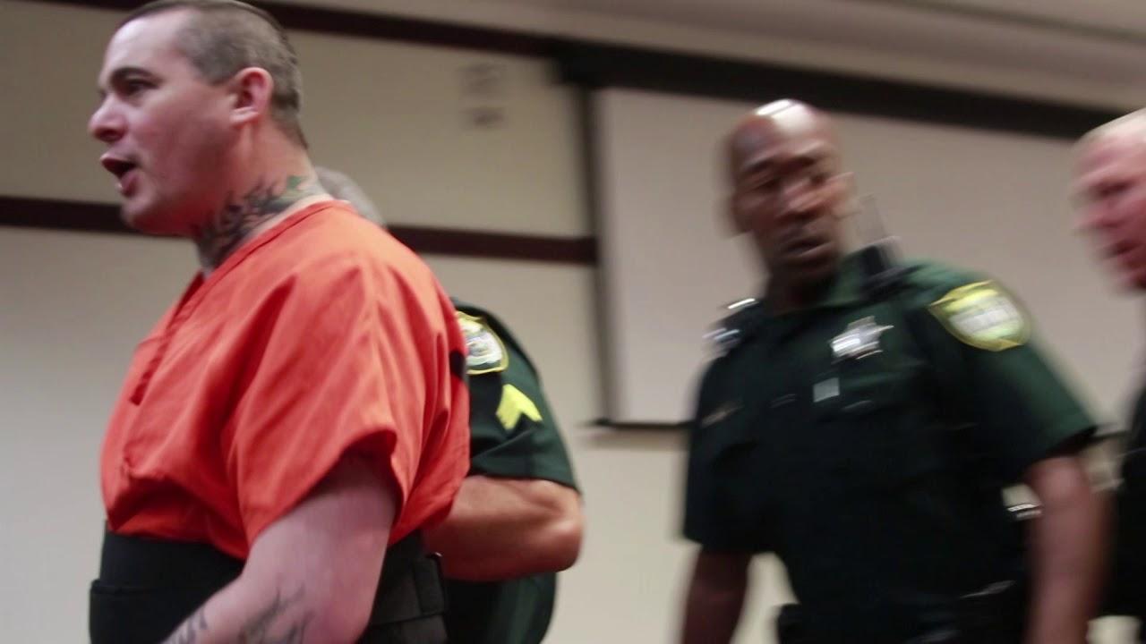 Graphic language: Daytona judge places screaming suspect in separate room