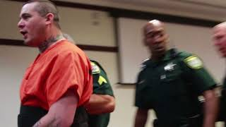 Graphic language: Daytona judge places screaming suspect in separate room