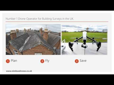 Why carry out a building survey using a drone?