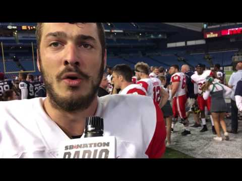 Anthony Auclair from Quebec at Shrine Game