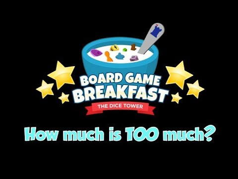 Board Game Breakfast - How Much is Too Much?