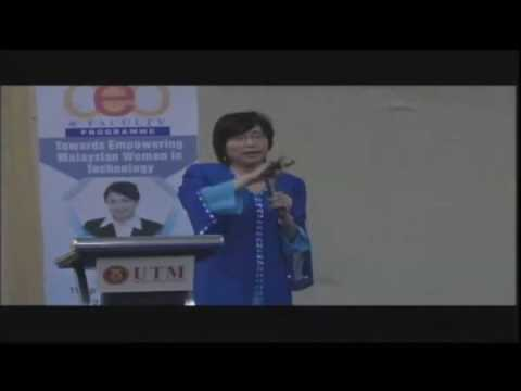 Towards Empowering Malaysian Women in Technology  by CEO of MDEC part2 mov