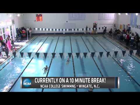 NCAA Women's College Swimming - Wingate vs. Gardner-Webb