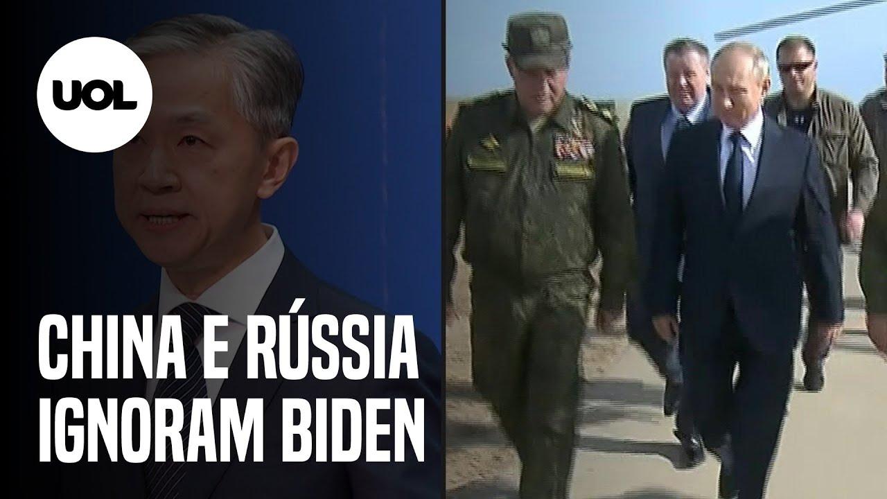 China e Rússia não felicitam Joe Biden pela vitória na eleição dos Estados Unidos