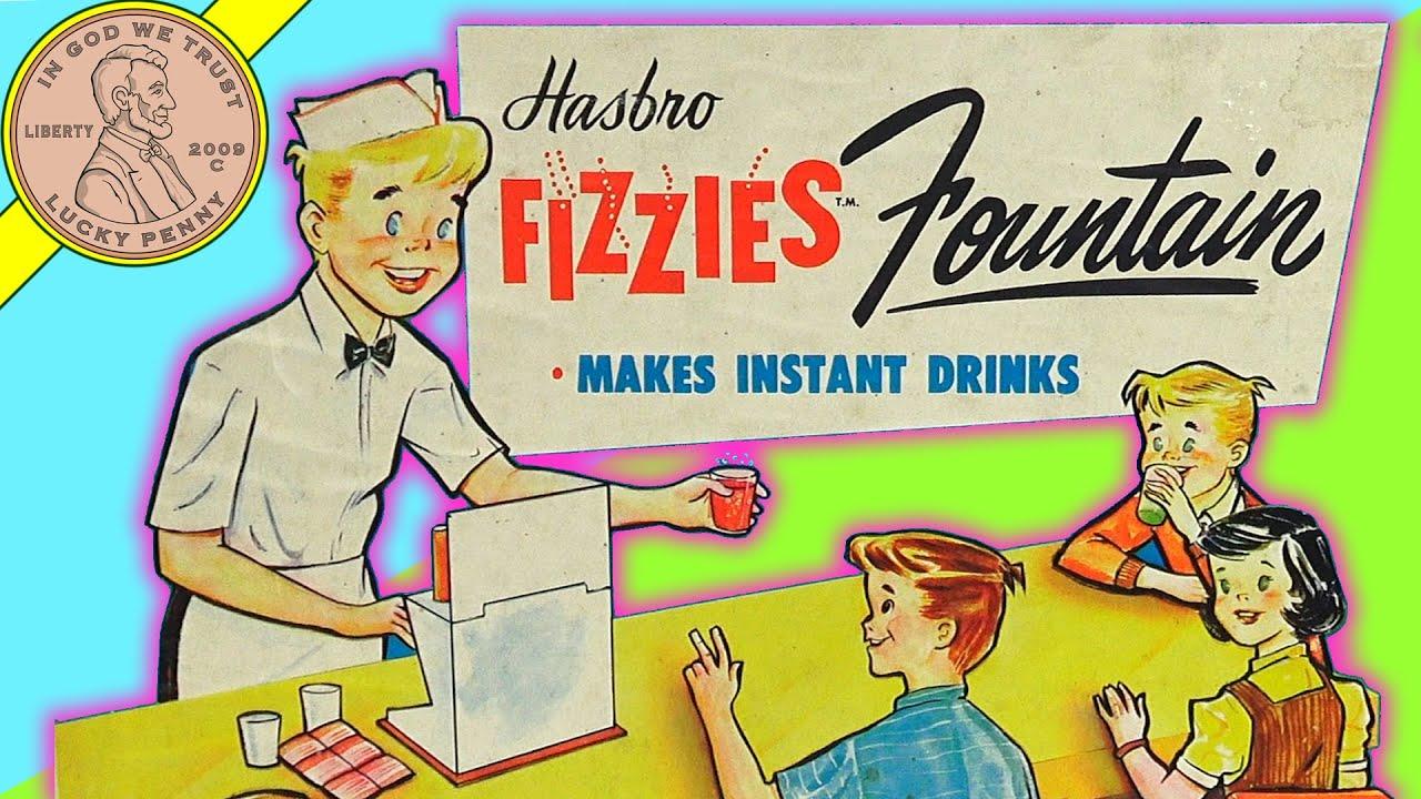 Hasbro Fizzies Fountain Vintage Soda Jerk Set!
