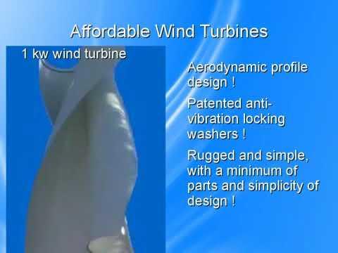 1 kw pole mount afffordable wind turbines website video 360p