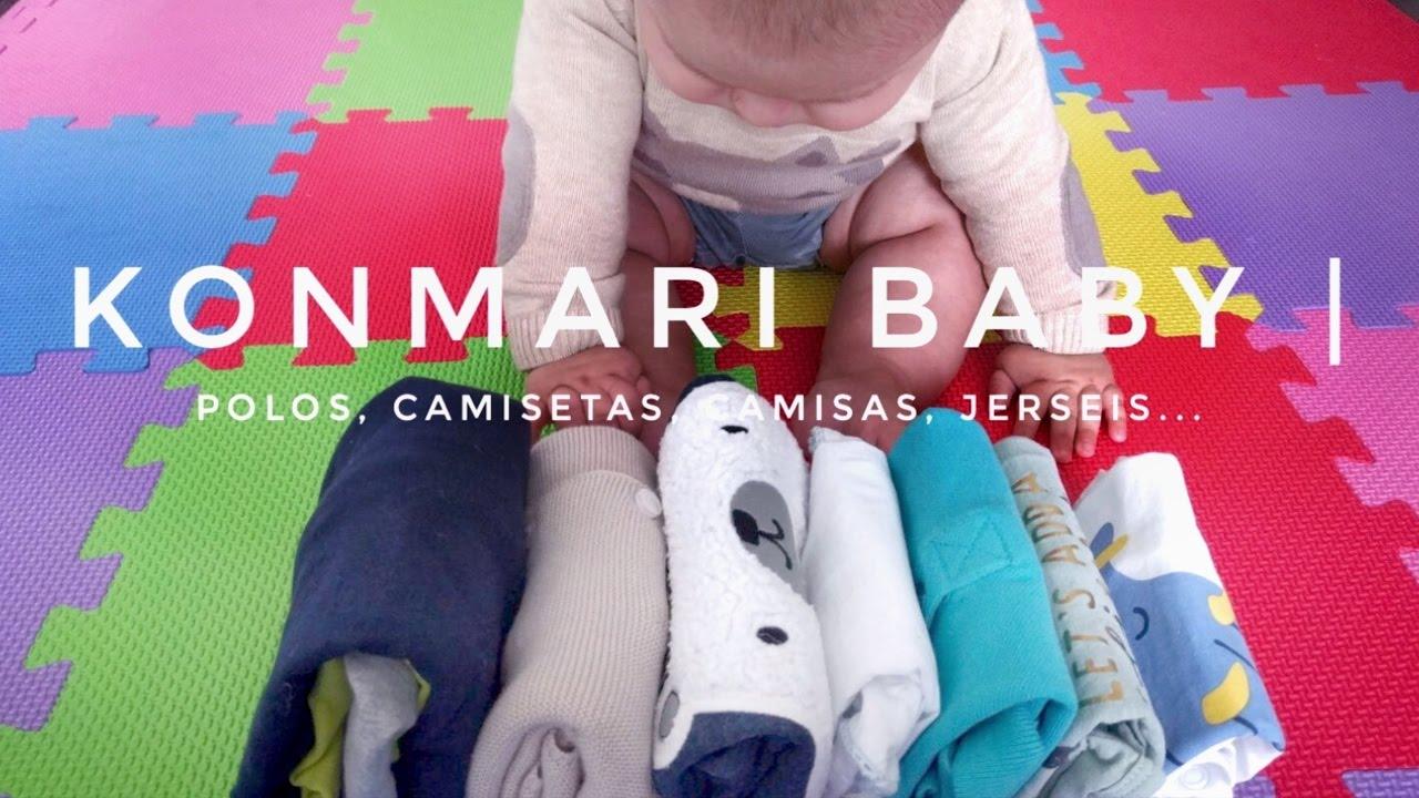 C mo doblar ropa de beb partes de arriba m todo - Marie kondo doblar ropa ...