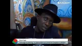 Tatouage et piercing, un phénomène qui prend de l'ampleur à Abidjan
