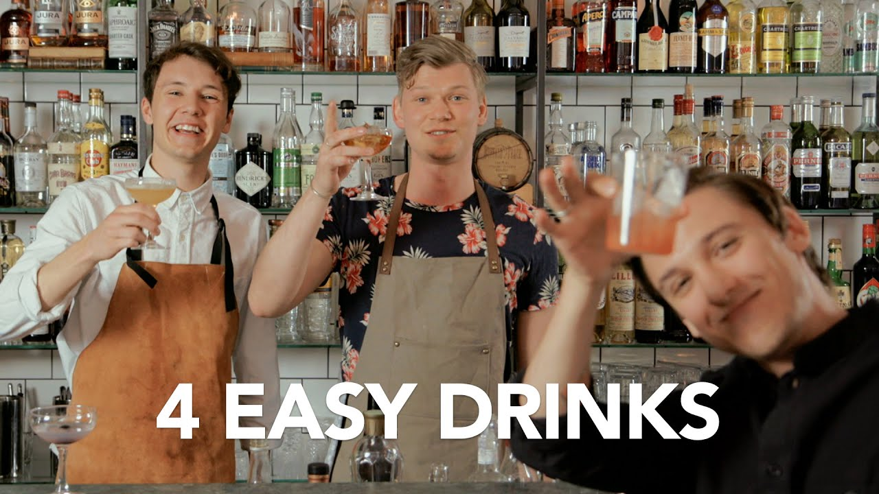 4 EASY DRINKS | Thelineup Menswear