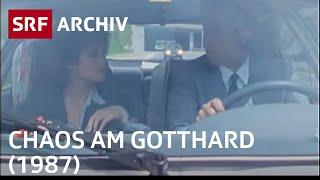 Chaos am Gotthard | Fernsehfilm von Schweizer Radio und Fernsehen | SRF Archiv