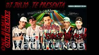 TIRATE UN PASO-dj julio sonido mix-LOS WUACHITURROS.avi