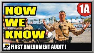 PUBLIC SERVANTS & SECURITY SCHOOLED  LAS VEGAS POLICE  First Amendment Audit  Amagansett Press
