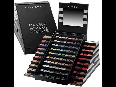 Makeup Academy Palette Sephora - YouTube