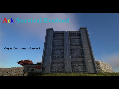 Ark Survival Evolved DINO TUBE COYAS COMMUNITY SERVER 1 [HD+] [German]