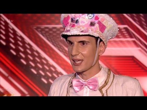 The X Factor UK 2016 Week 2 Auditions Ottavio Columbro Full Clip S13E03
