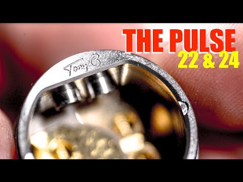 The Pulse Postless Squonking BF RDA | 22 and 24 Versions | Tony B of The Vapor Trail and Vandy Vape