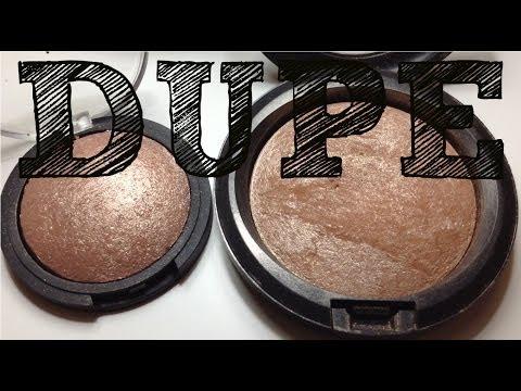 MAC Soft & Gentle vs ELF Blush Gems DUPE