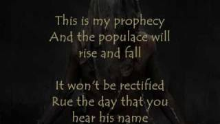 Whitechapel -- Daemon (The Procreated) Lyrics (ONSCREEN)