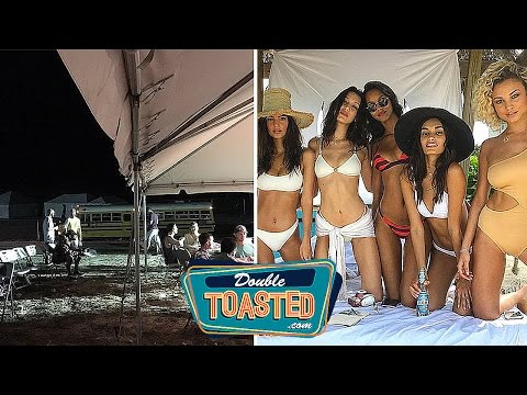 FYRE FESTIVAL MUSIC FESTIVAL DISASTER EXPLAINED - Double Toasted Funny Podcast Highlight
