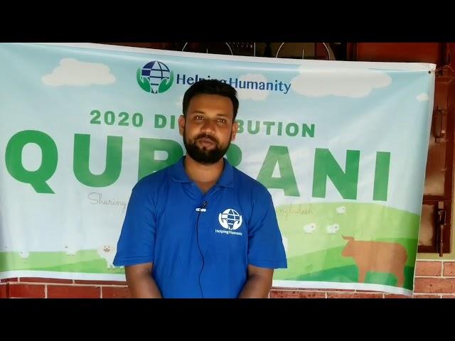 Qurbani 2020 distribution