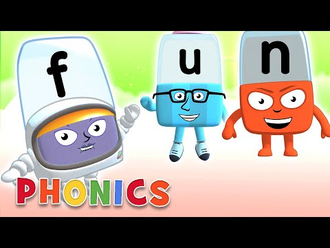 Phonics - Learn To Read | Fun Spelling! | Alphablocks