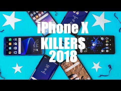 5 smartphones meilleurs que l'iPhone X !