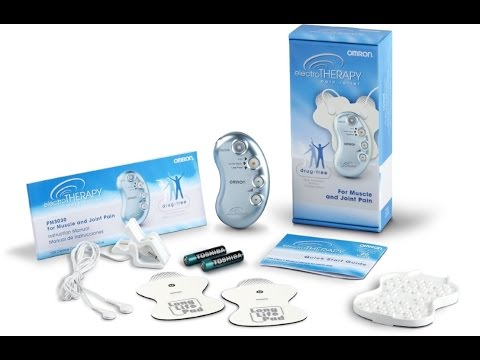 Get started with Omron electroTHERAPY Pain Relief Device PM3030