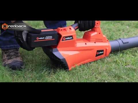 Redback 40V Cordless Lithium Garden Tools