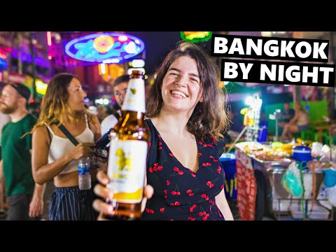 Bangkok's Skybars, Cheap Beers & Crazy Party Street!