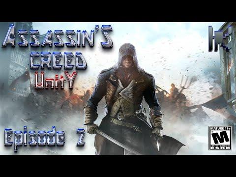 Let's Play Assassin's Creed Unity (PS4 1080p) - Episode 2: No Invitation, No Problem!