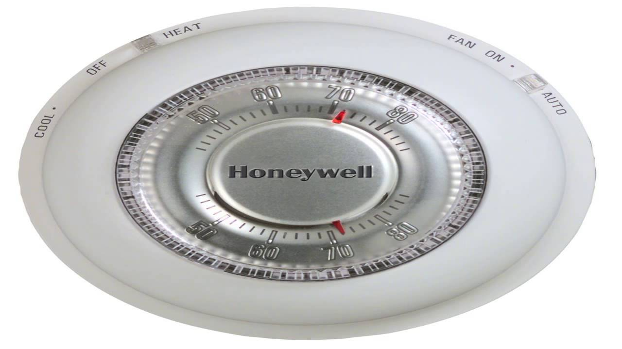 honeywell t87n1000 heat cool thermostat [ 1280 x 720 Pixel ]