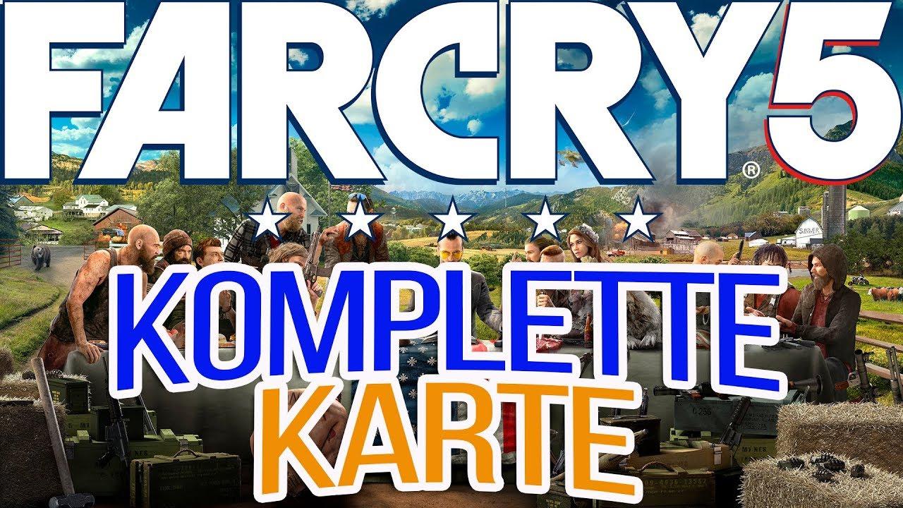 Akustische Wolfsköder Far Cry 5 Karte.Far Cry 5 Guide Die Komplette Map Karte Im Detail Erklärt Wo Gibt Es Begleiter Und Mehr