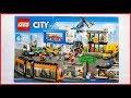 Unboxing Lego 60097 City Square Speed Build