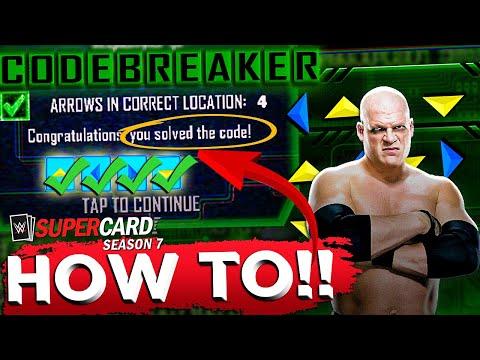 EASY WINS IN CODEBREAKER! WWE SUPERCARD SEASON 7
