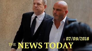 Movie Mogul Weinstein Pleads Not Guilty To Sex Assault Charges | News Today | 07/09/2018 | Dona...